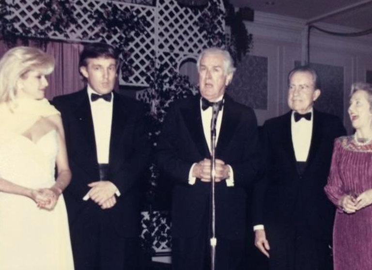 尼克遜與杜林普有過交情,曾嘉許他「假如從政將會成為贏家。」 圖片來源:紐約時報