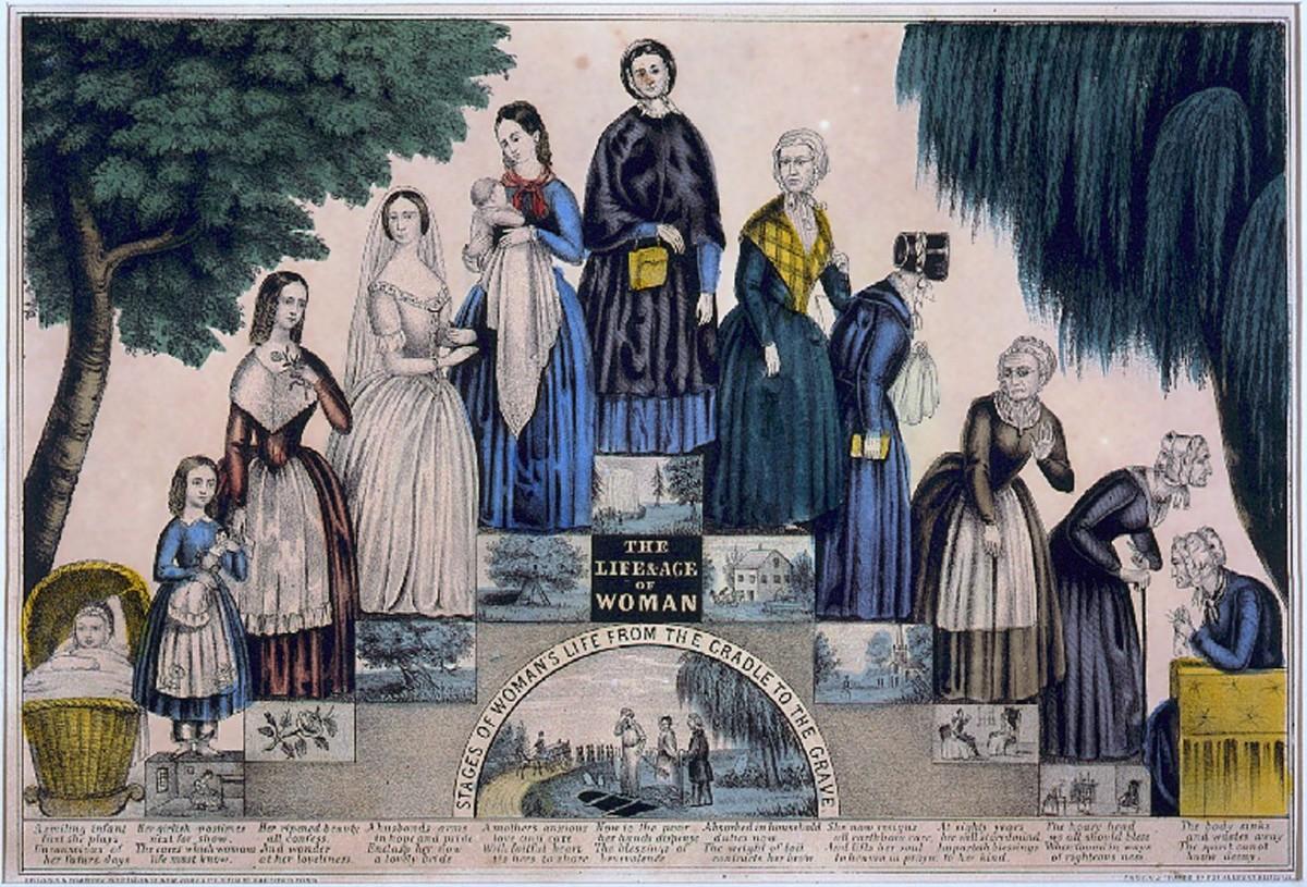 1840 年代美國女人的一生。