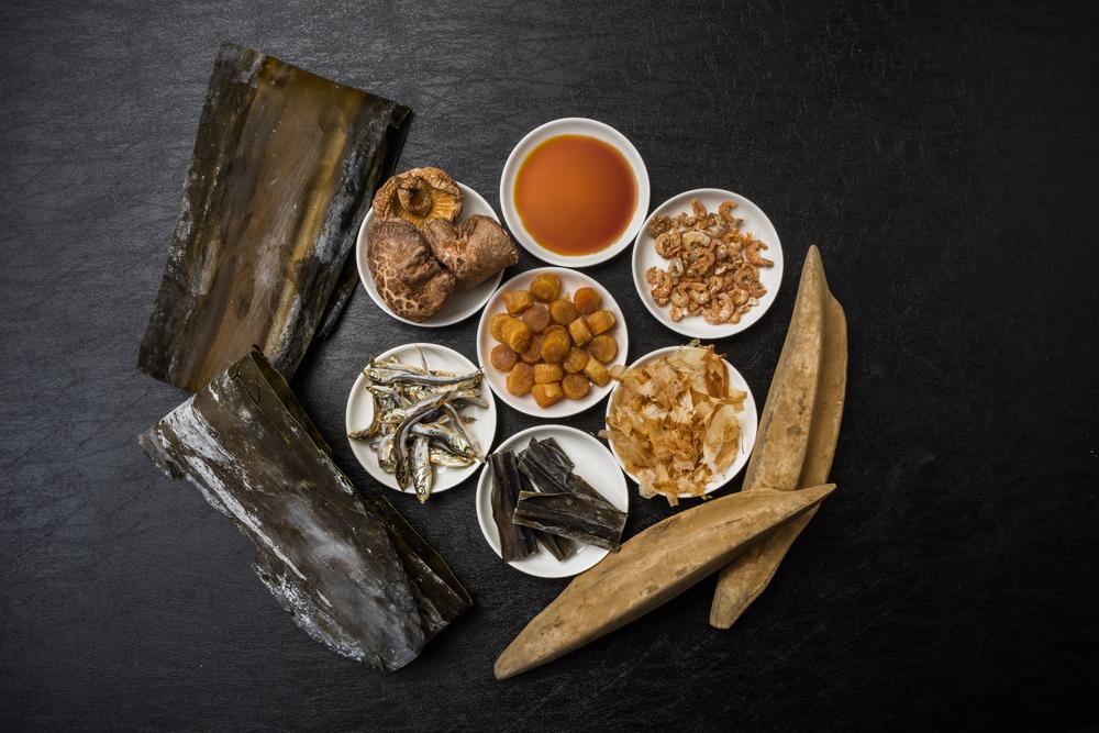 日式高湯的材料飽含天然鮮味。