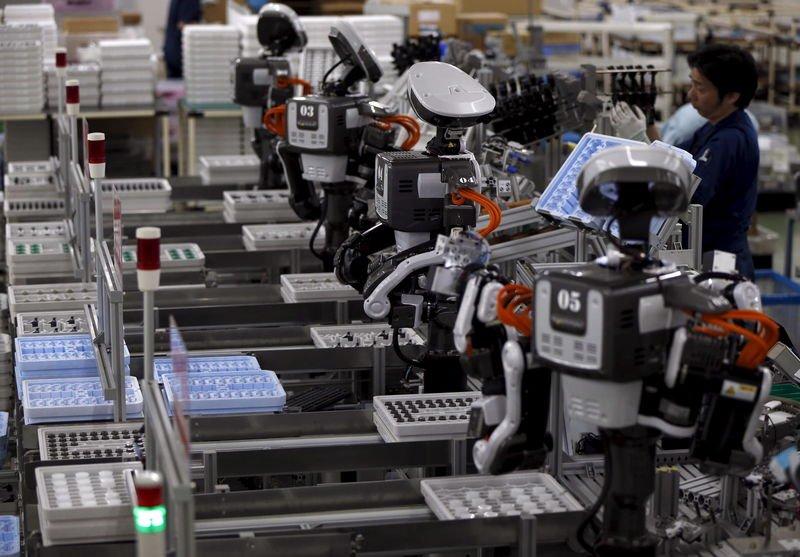 在未來世界,機械工人會多過人類? 圖片來源:路透社