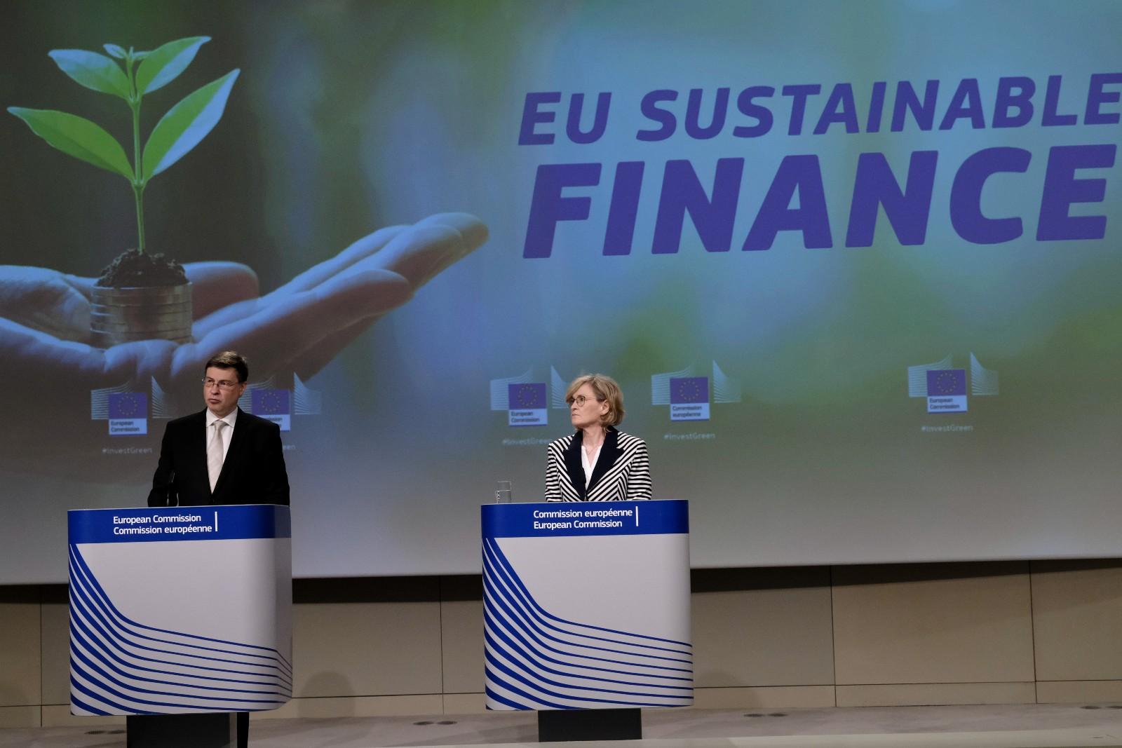 歐盟可持續金融